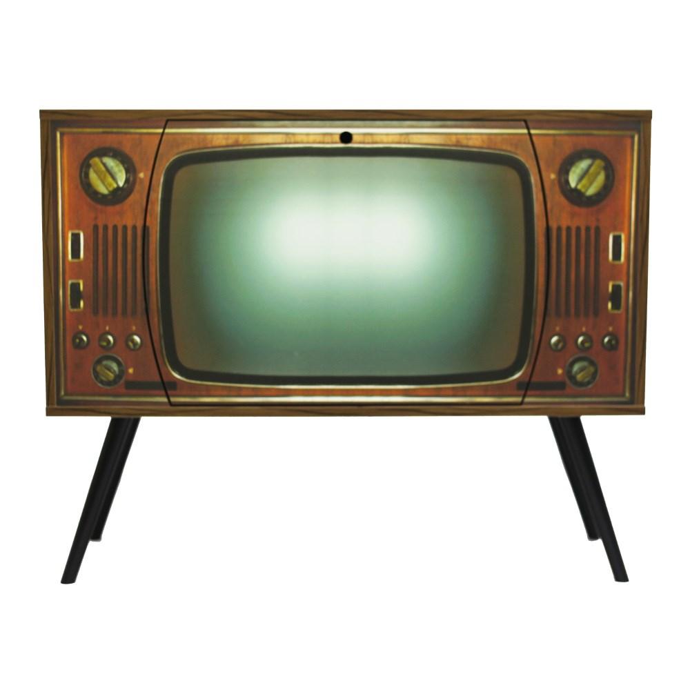 Arm rio aparador tv vintage anos 60 p palito miusa art decor atelier - Television anos 70 ...