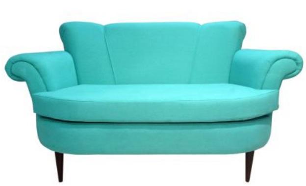 retro sofa sof 2 lugares retr turquesa hochbett. Black Bedroom Furniture Sets. Home Design Ideas